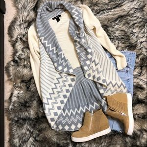 Ashley Stewart shawl cardigan